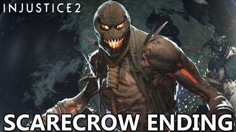 Injustice 2 - Scarecrow Ending!