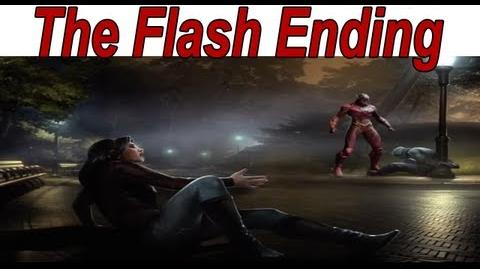 Injustice Gods Among Us - The Flash Ending 【HD】
