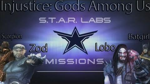 Injustice Gods Among Us - All Star Labs Missions for DLC Characters (Lobo, Batgirl, Scorpion, Zod)