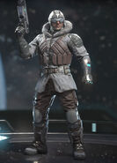 Captain Cold - Polar Whiteout - Alternate