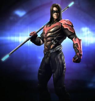 Damian Wayne | Injustice:Gods Among Us Wiki | FANDOM ... Nightwing Injustice Comic