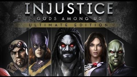 Injustice Gods Among Us - All Intros, Super Moves and Victory Poses (Including All DLC) (HD)