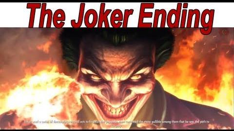 Injustice Gods Among Us - 'The Joker' Ending 【HD】
