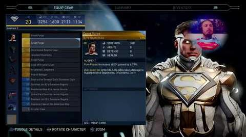 Injustice 2 all epic gear