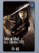 Talia al Ghul IOS