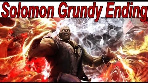 Injustice Gods Among Us - Solomon Grundy Ending 【HD】