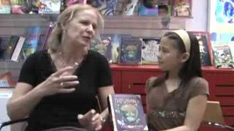 Cornelia Funke Inkdeath interview - Ideas In Writing Kids Club
