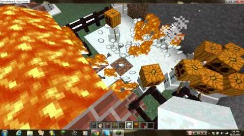 Minecraft how to kill snow golems part 3