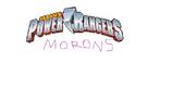 Power Rangers Morons Logo