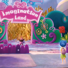 Bing Bong outside Imagination Land