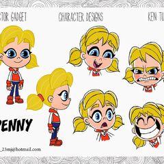 Penny's 2D designs by Ken Turner