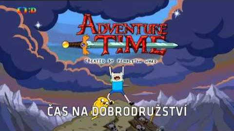 Adventure Time - theme song and credits (Czech)