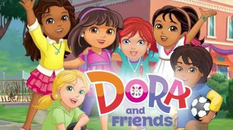 Dora and Friends Into the City! - theme song (Dutch)