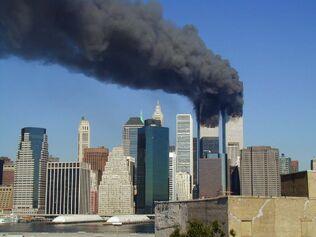 WTC smoking on 9-11