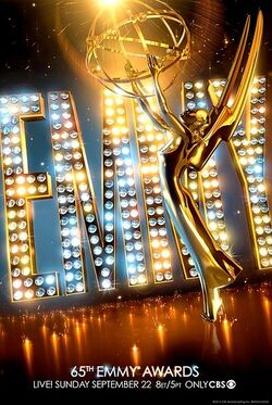 65th Primetime Emmy Awards Poster