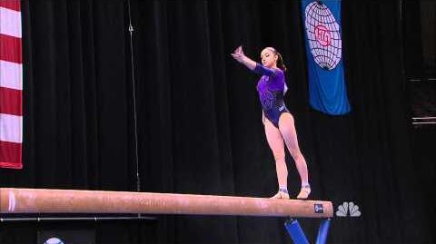 Aliya Mustafina - Balance Beam - 2011 AT&T American Cup