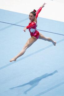 Kyla Ross Artistic Gymnastics World Championships QaLQ2A8EAJzl