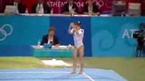 Oana Ban 2004 Olympics Qualifications Floor