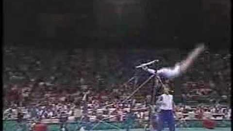 Amy Chow - 1996 Olympics Team Optionals - Uneven Bars