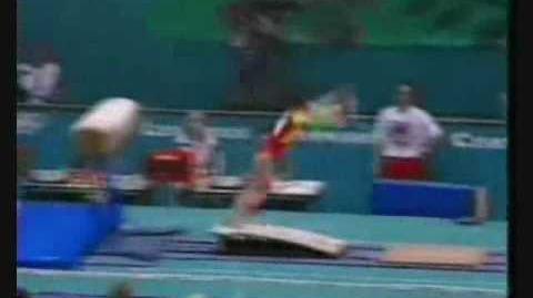 Mo Huilan 1996 Olympics Optionals Vault