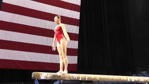 Kyla Ross - Balance Beam - 2013 P&G Championships - Sr