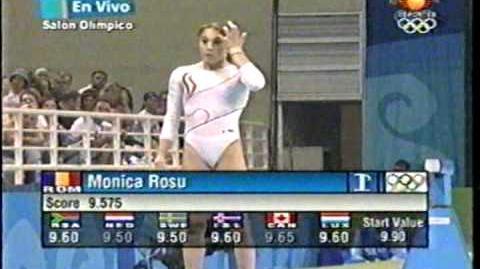 Monica Rosu Vault EF Juegos Olimpicos Atenas 2004
