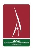 Artistic Gymnastics 2002 Worlds logo