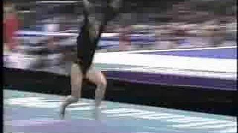 Lilia Podkopayeva - 1996 Olympics AA - Vault 2