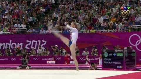 Sandra Izbasa 2012 Olympics TF FX