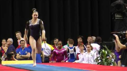 Roxana Popa Nedelcu - Vault - 2014 AT&T American Cup