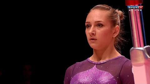 Viktoria Komova (RUS) UB EF World Championships Glasgow 2015