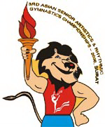 2006 Asian Artistic Gymnastics Championships logo