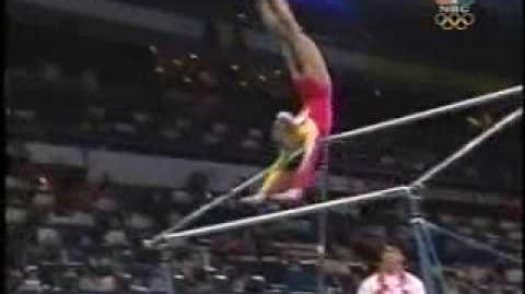 Ling Jie - 2000 Olympics Team Finals - Uneven Bars