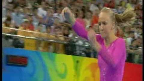 Nastia Liukin (USA) - 2008 Olympics AA - Vault