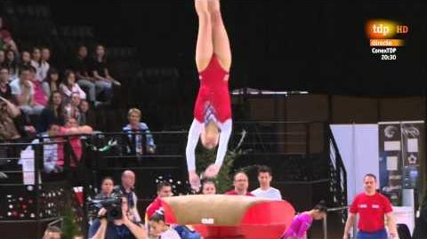 Eythora Thorsdottir. 2015 European Championships. AA VT