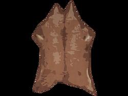 Fresh deer hide