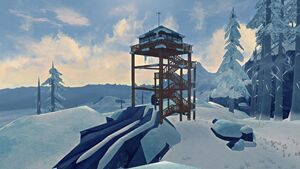 New forestry lookout