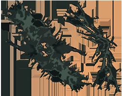 Old man's beard lichen