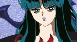Kaguya's distaste for half-demons