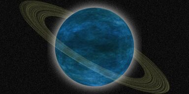 Blue Ringed Planet