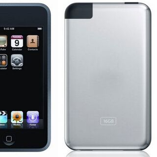 The first-generation iPod Touch.
