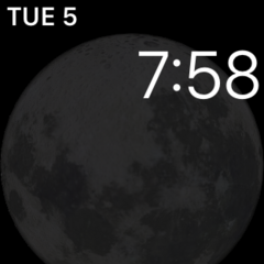 Astronomy Moon Watch Face