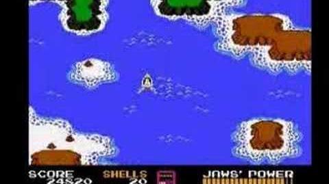 The IRATE Gamer - JAWS NES nintendo Game irategamer