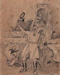 Mary Fitzpatrick cartoon 1914