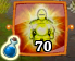 Banner of heroism icon