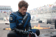 Tony Stark In Racing Suit I Guess