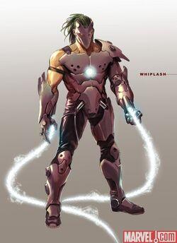Whiplash Concept Art Iron Man 2 movie (1)
