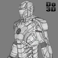 Iron man 3 suits - mark 42 tony stark armor mark 17 heartbreaker armor 3d model 3ds fbx obj max 96cecafd-3edc-4167-b061-2ade96dff7ac