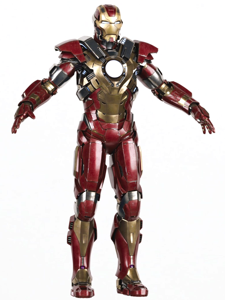 Iron Man 3 Armor Suits Mark 17 Image - Mark XVII Hear...
