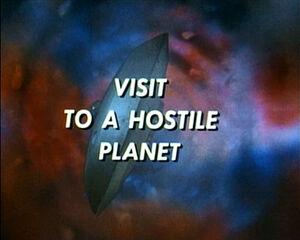 Visit to a hostile planet